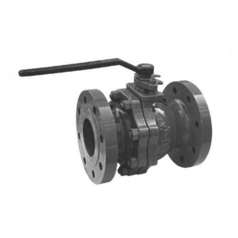 Casting Steel Floating Ball Valves 1